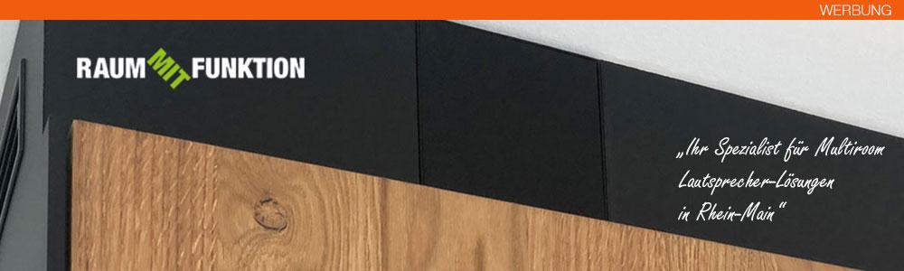 Raum mit Funktion - Ihe Spezialist für Multiroom Lautsprecher Lösungen in Rhein-Main